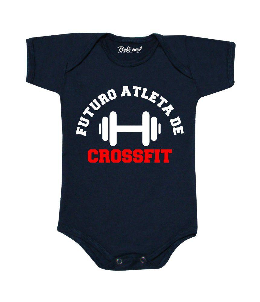 Body de Bebê Futuro Atleta de Crossfit