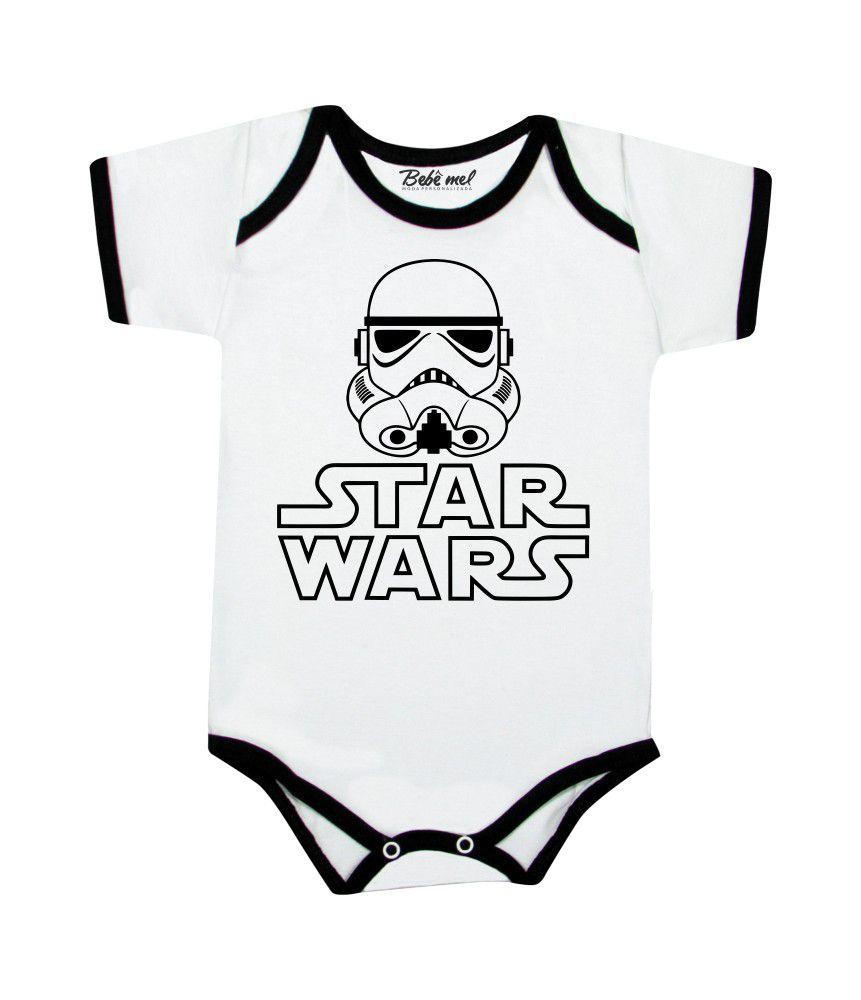 Body de Bebê Geek Trooper Star Wars