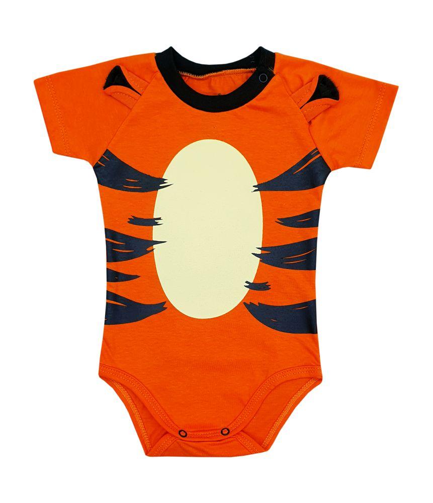 Body de Bebê Personagem Tigrão Mêsversário Orelhinhas