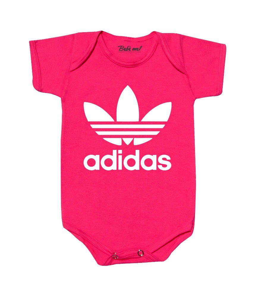 Body de Bebê Personalizado Adidas