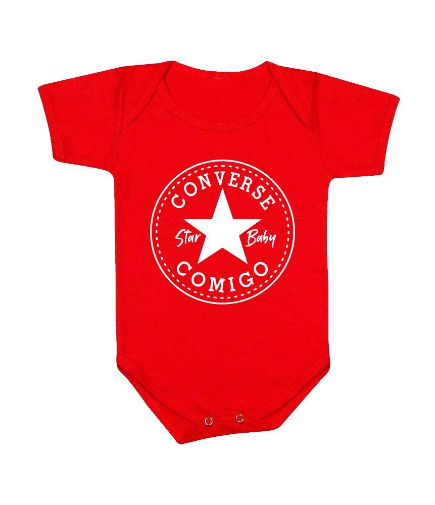 Body de Bebê Personalizado Star Baby Converse Comigo