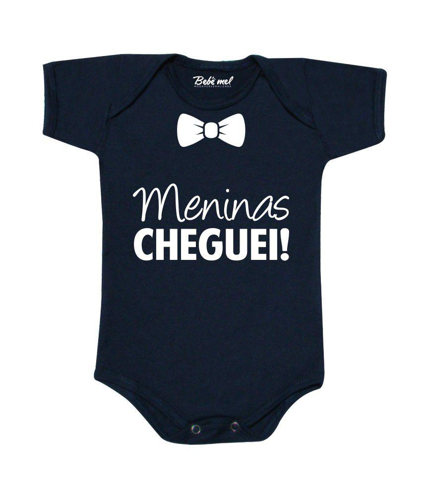 Body de Bebê Personalizado Meninas Cheguei