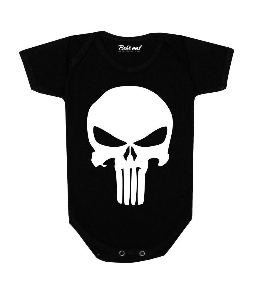 Body de Bebê Personalizado O Justiceiro