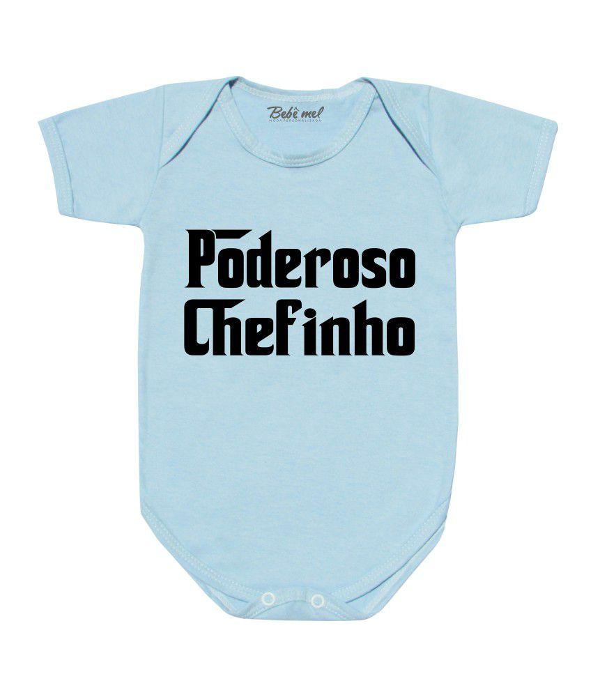 Body de Bebê Poderoso Chefinho
