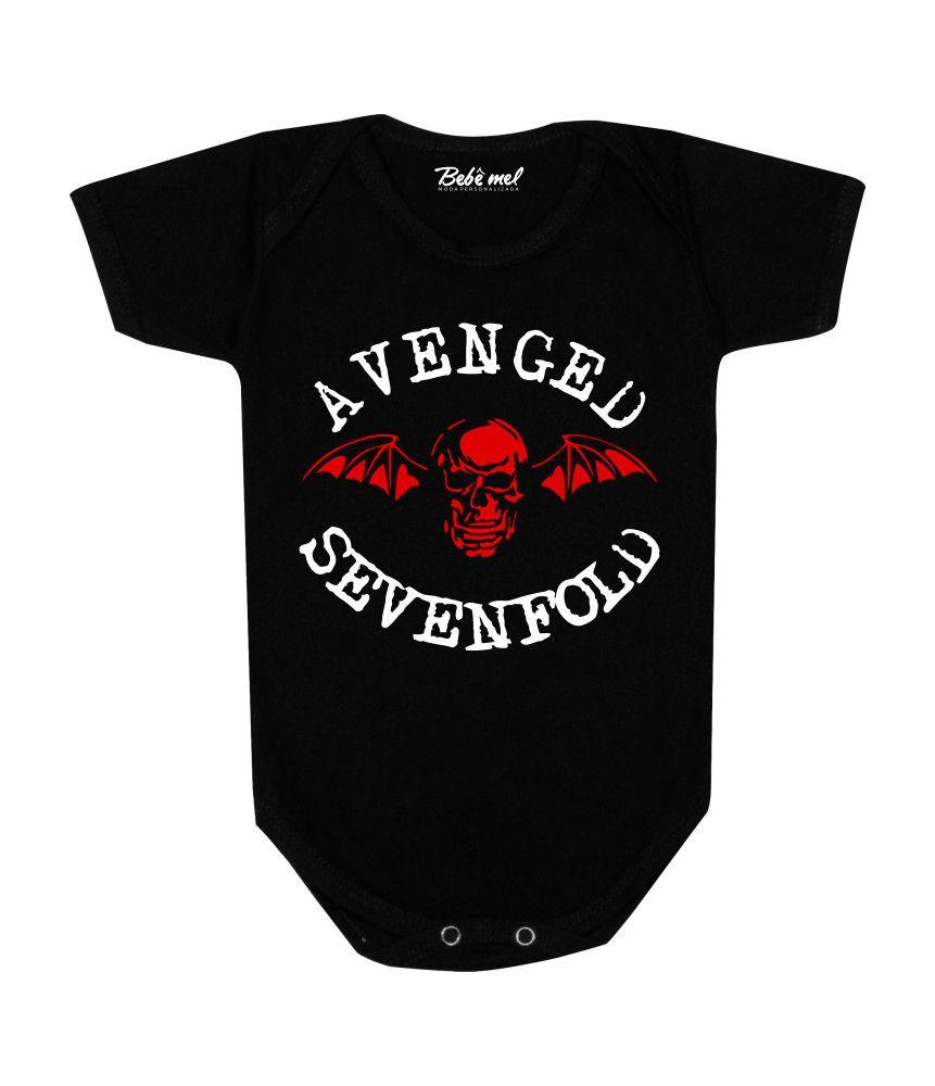 Body de Bebê Rock Banda Avenged Sevenfold