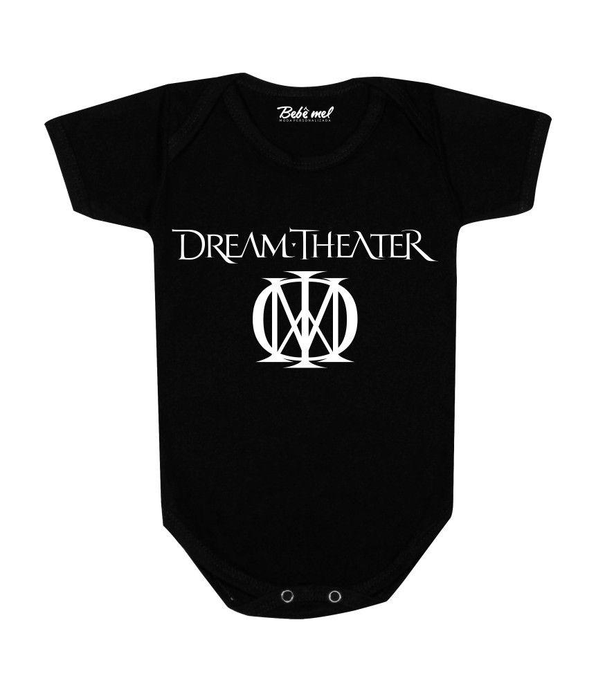 Body de Bebê Rock Banda Dream Theater