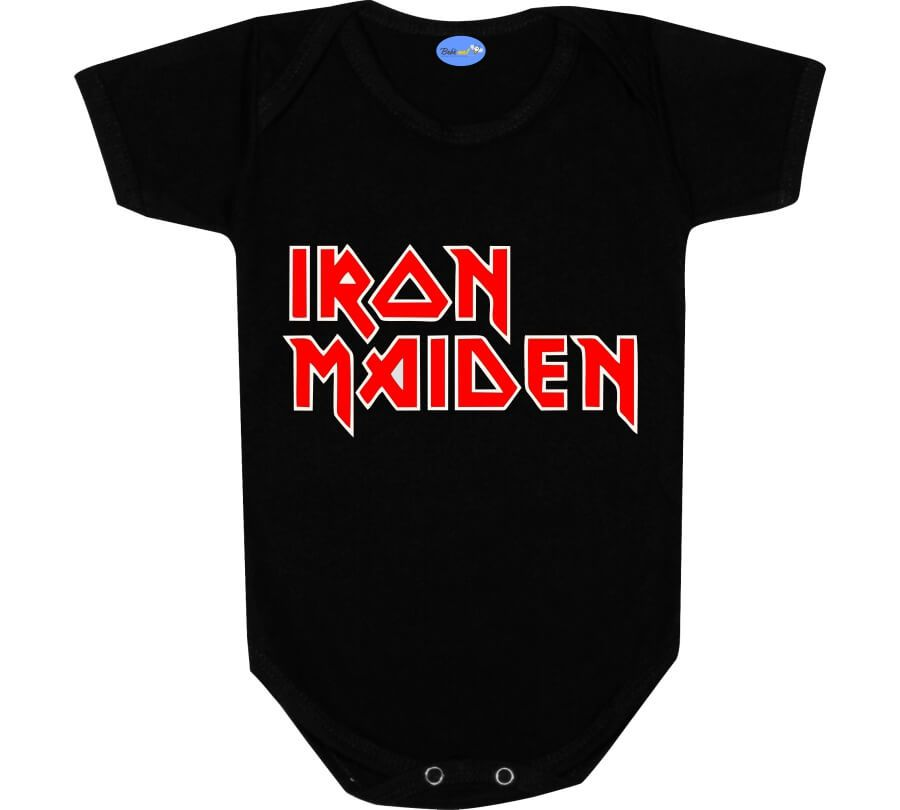 Body de Bebê Rock Iron Maiden