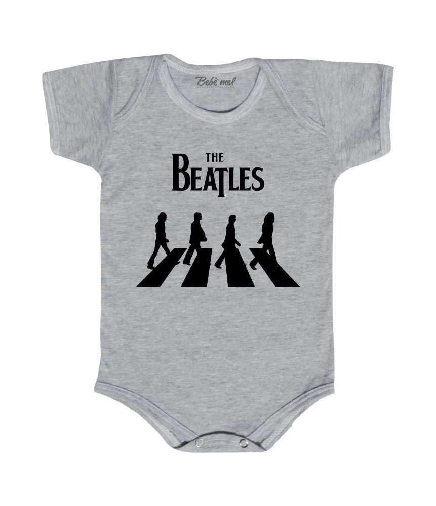 Body de Rock Bebê Personalizado The Beatles