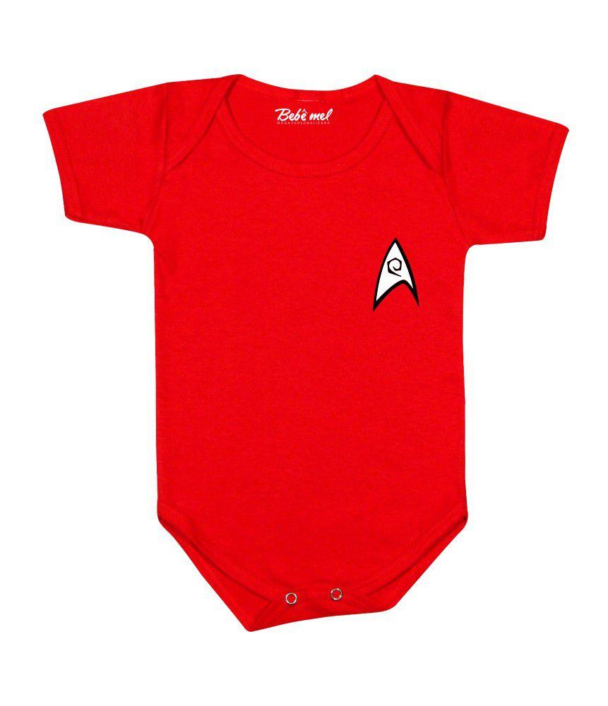 Body de Super Herói Bebê Infantil Star Trek