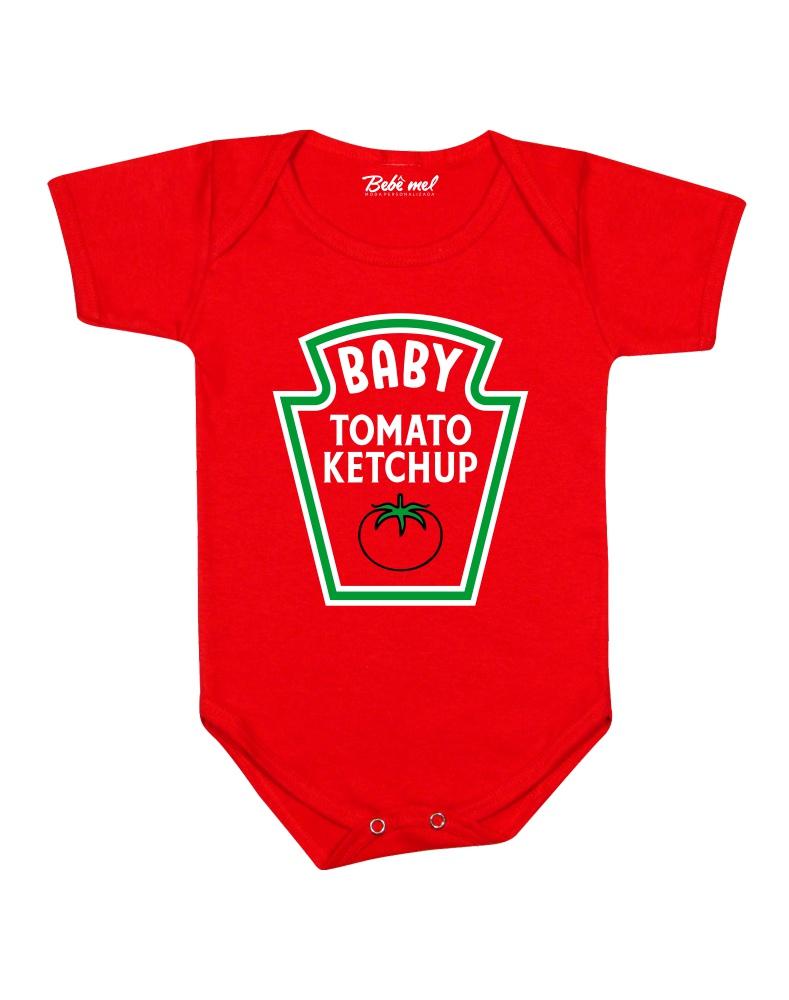 Body Divertido Bebê Ketchup