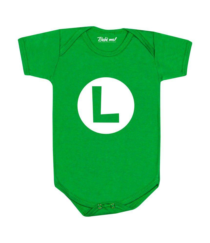 Body Divertido Bebê Luigi