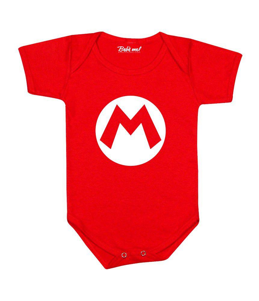 Body Divertido Bebê Mário Bross
