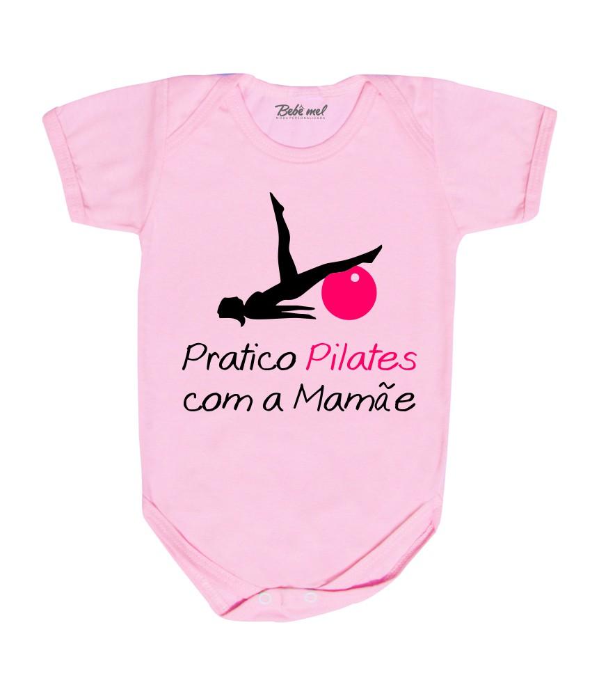 Body Roupa Bebê Pilates Menina