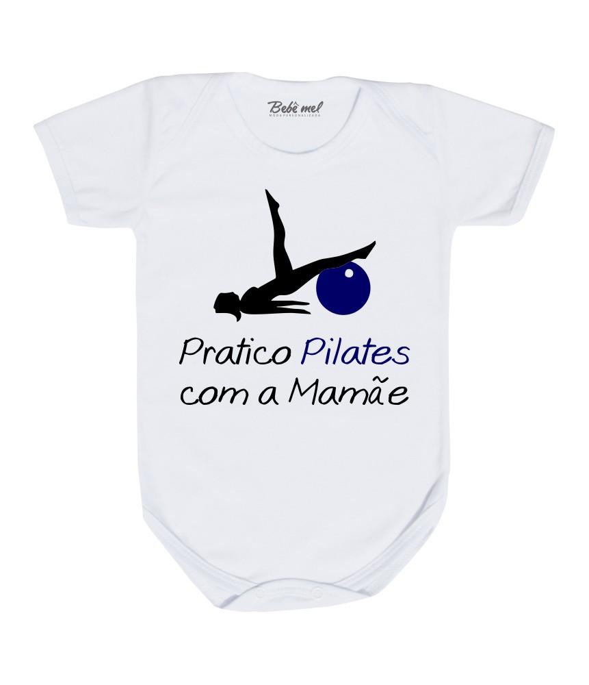 Body Roupa Bebê Pilates Menino