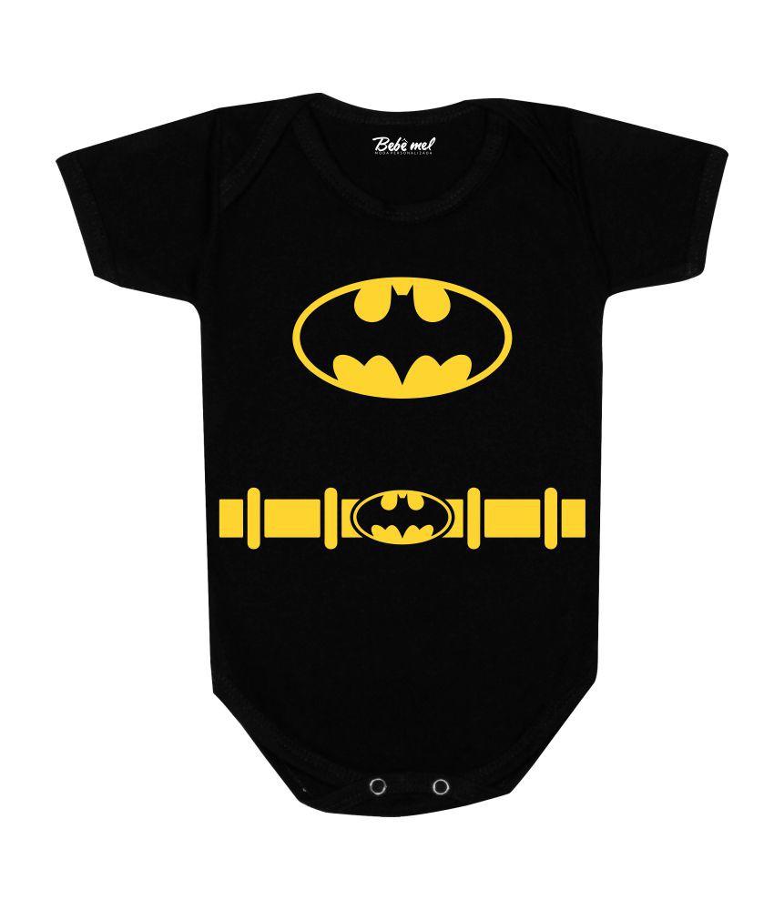 Conjunto Bebê Body + Calça Batman