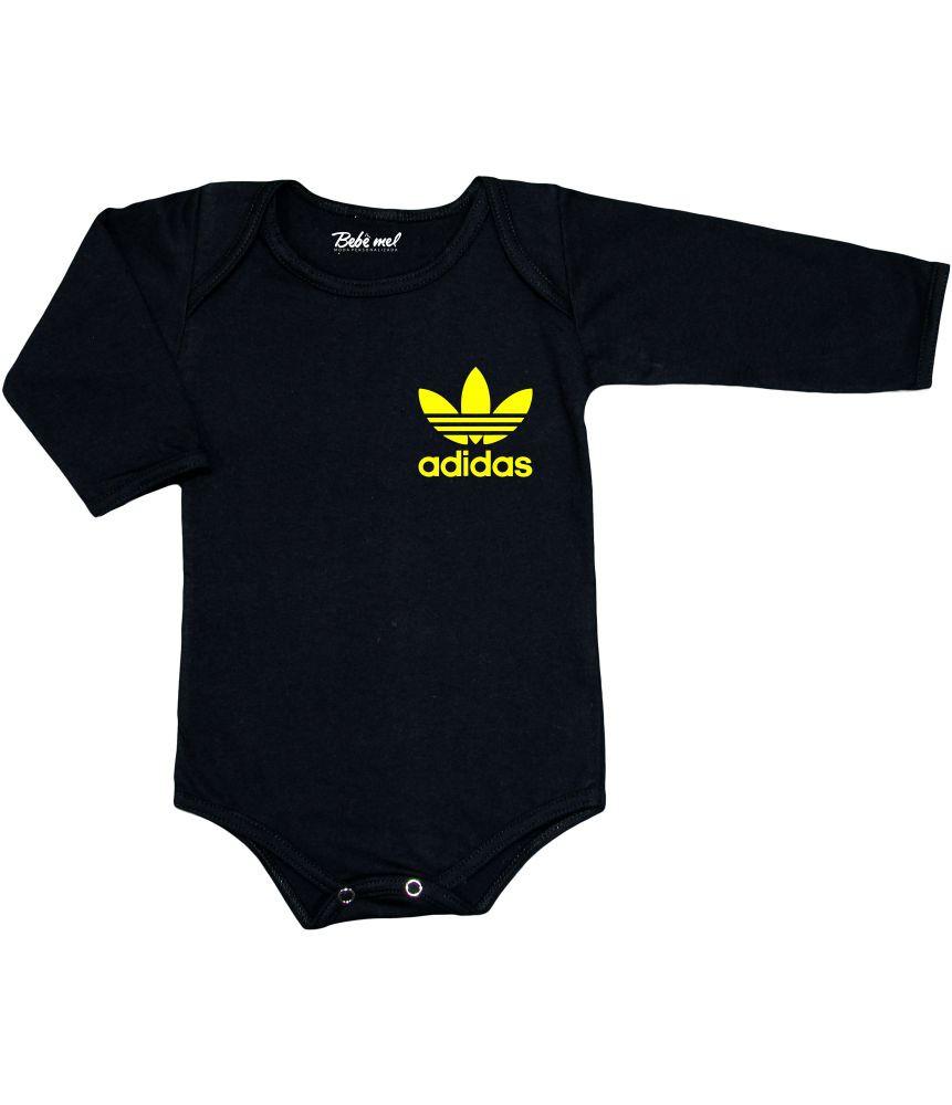 Conjunto Bebê Body Calça e Tênis Adidas