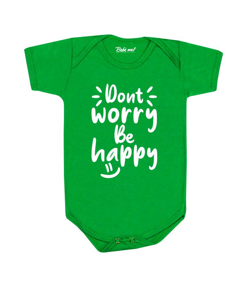 Conjunto Bebê Estiloso Don´t Worry Be happy