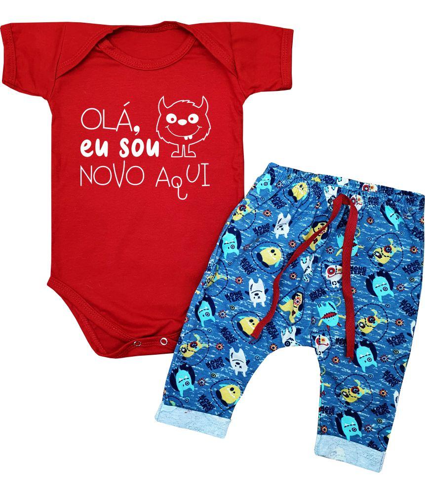 Conjunto Bebê Menino Mostrinhos