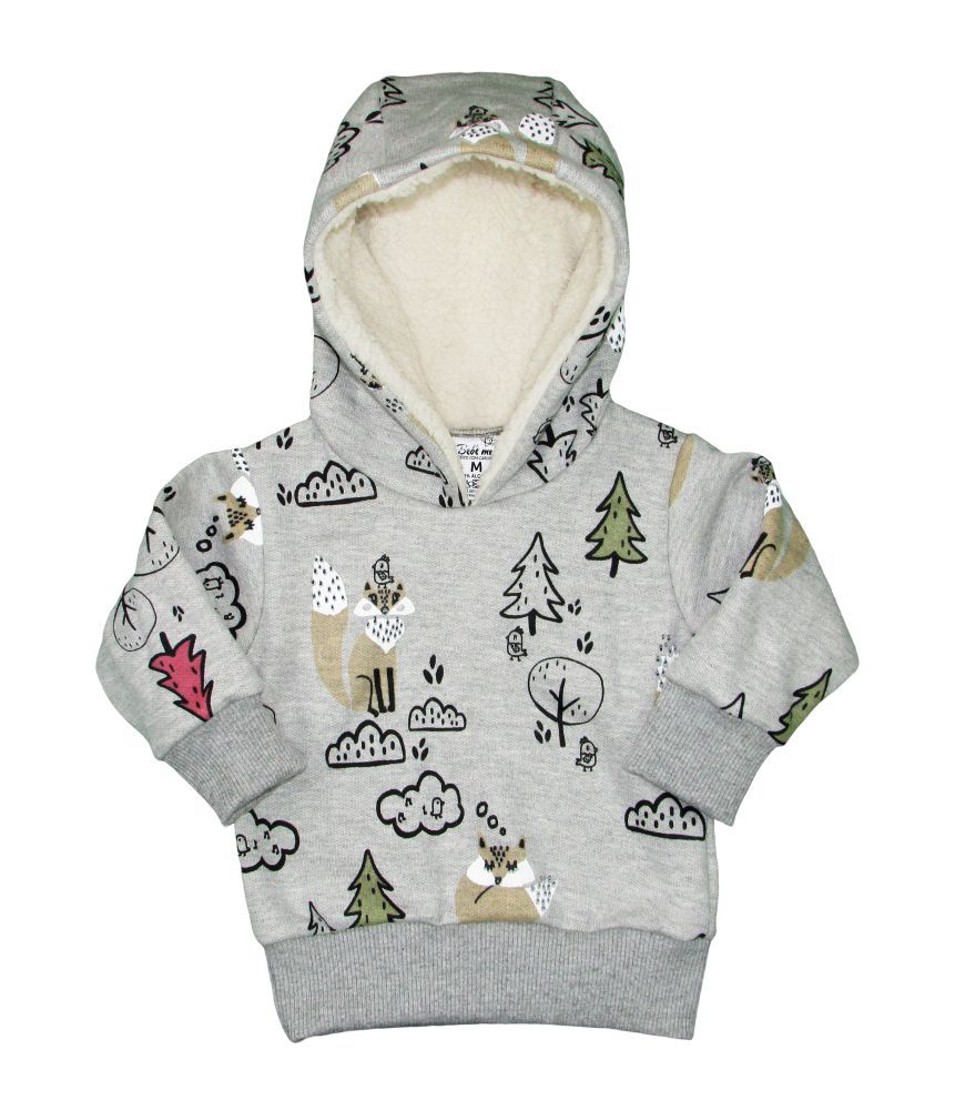 Conjunto Bebê Moletom Inverno Raposa
