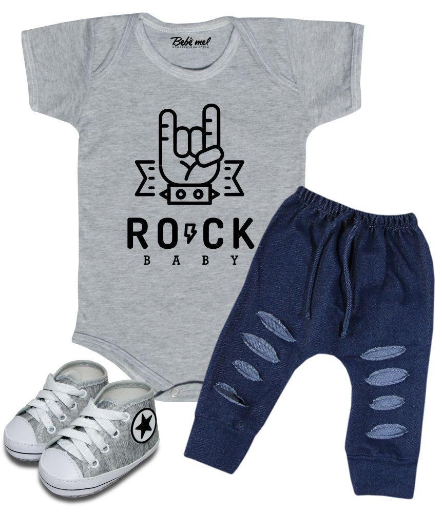 Conjunto Bebê Rock Baby Estiloso