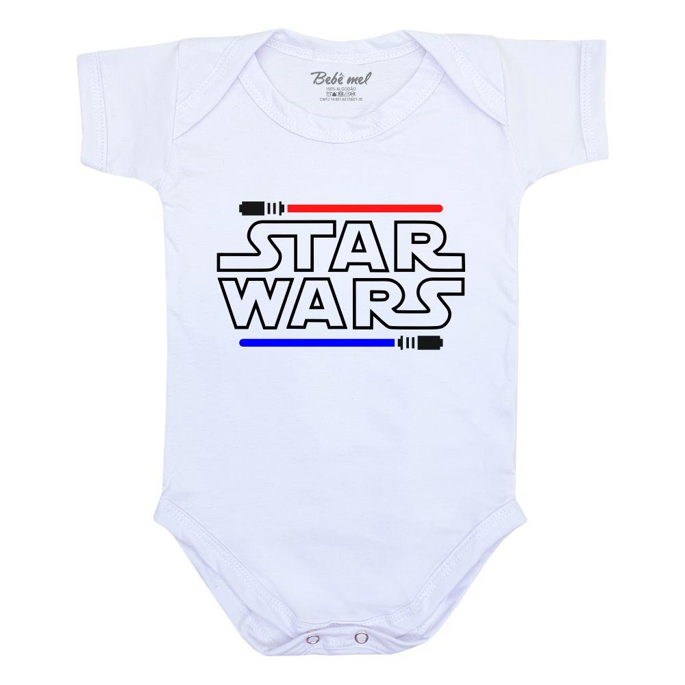 Conjunto de Bebê Geek Star Wars Darth Vader