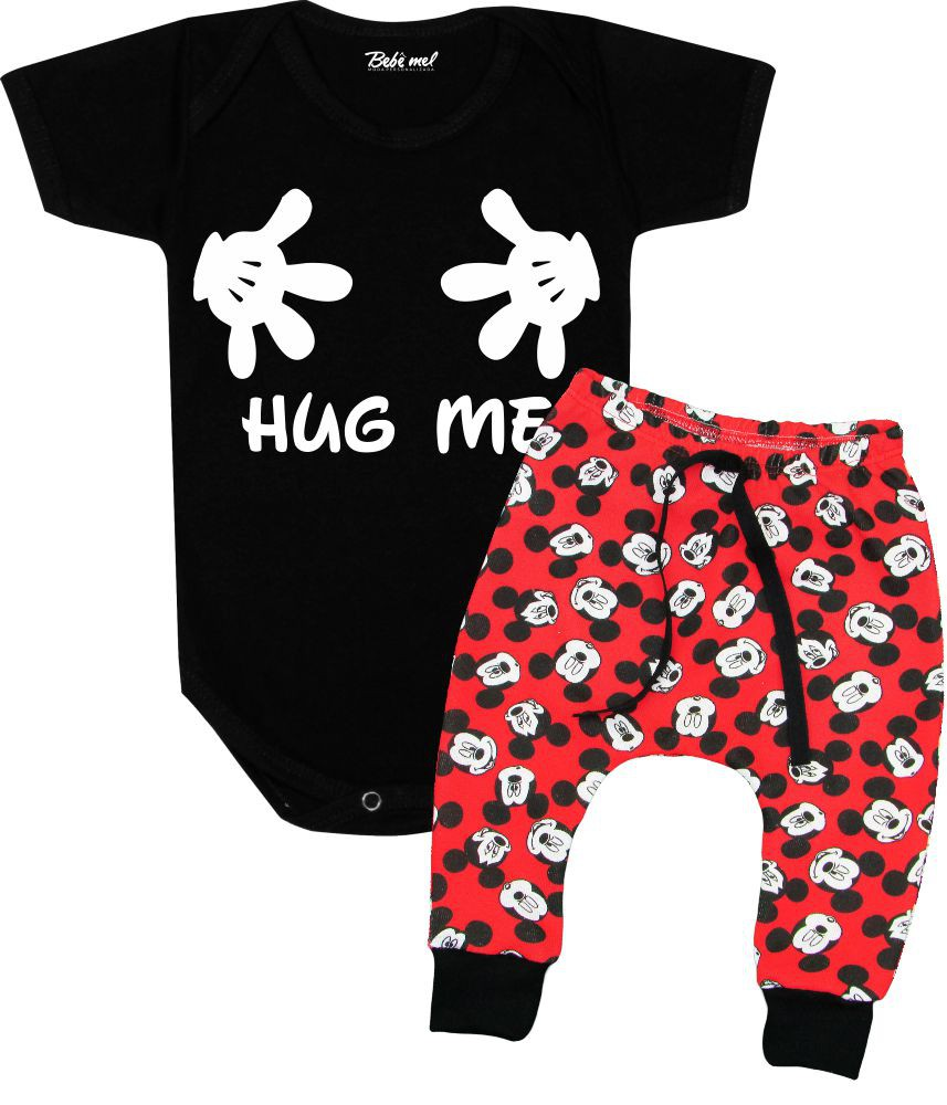 Conjunto para Bebê Body + Calça Mickey Hug Me