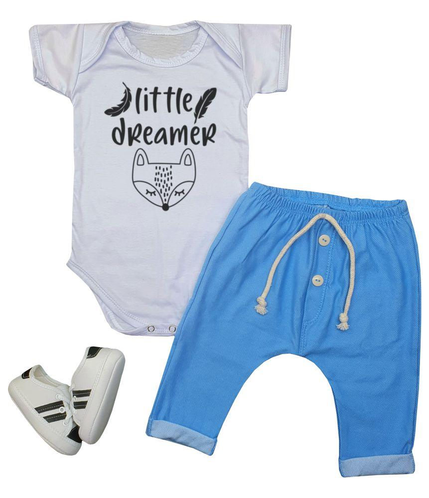 Conjunto Roupa Bebê Little Dreamer 3 peças