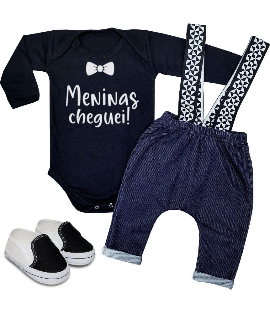 Conjunto Roupa Bebê Meninas Cheguei