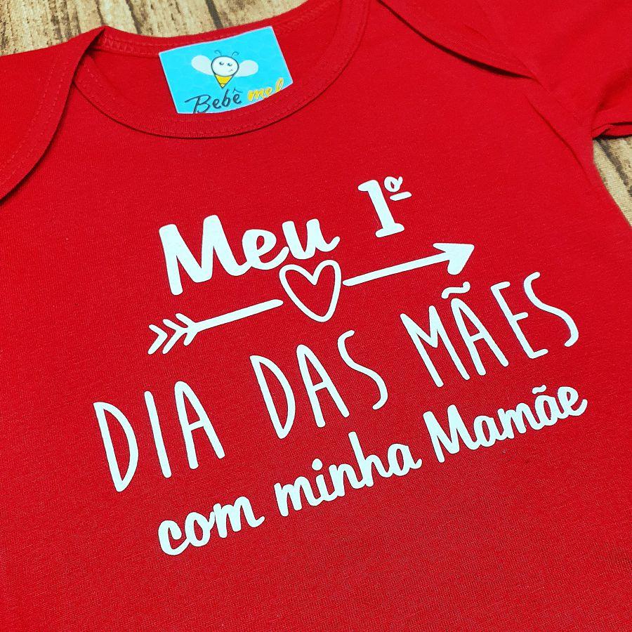 Conjunto Roupa Bebê Primeiro Dia das Mães