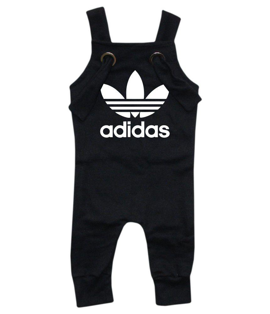 Jardineira Para bebê Macacão Estiloso Adidas