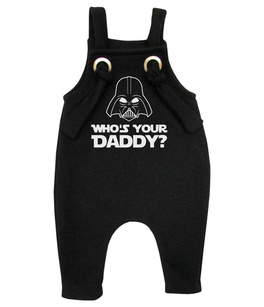 Jardineira Para bebê Macacão Estiloso Darth Star Wars