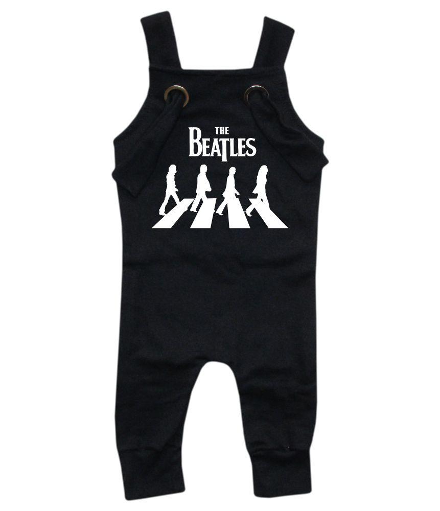 Jardineira Para bebê Macacão Estiloso Rock Beatles
