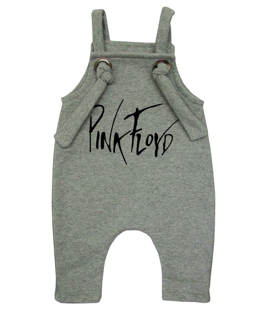 Jardineira Para bebê Macacão Estiloso Rock Pink Floyd