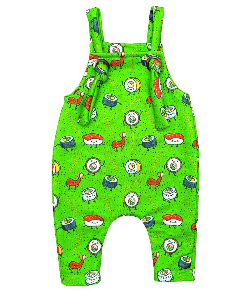 Jardineira Para bebê Macacão Moletom Wasabi Sushi