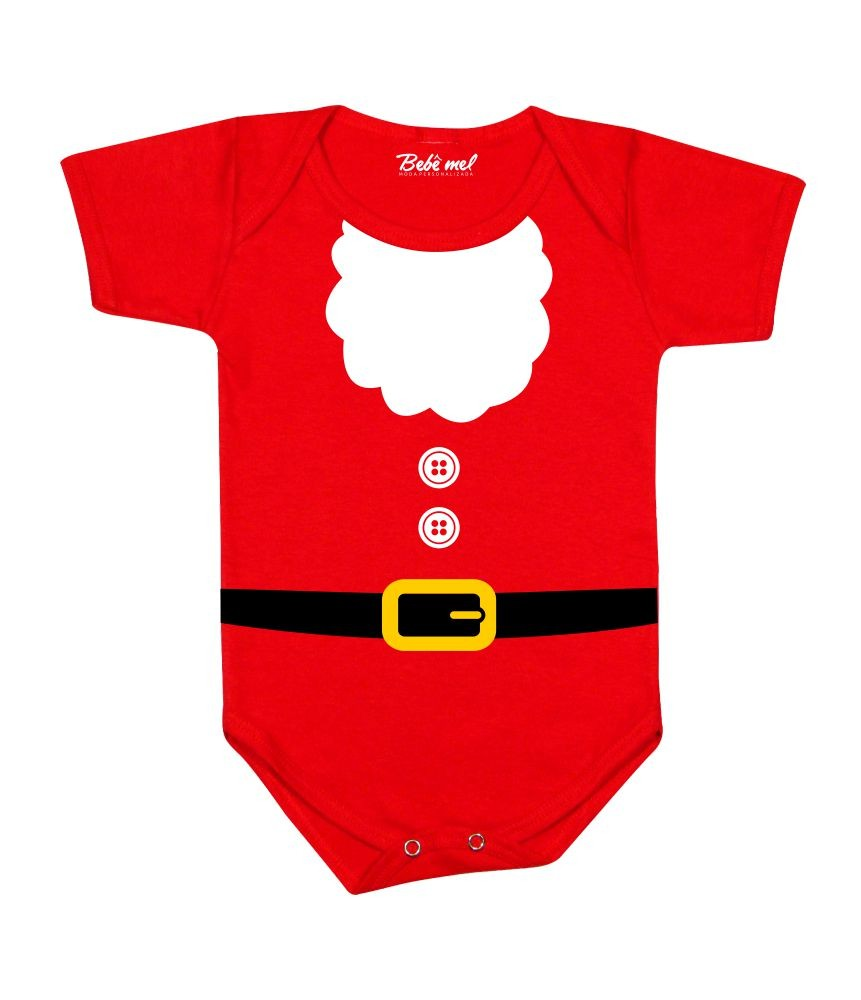 Kit Natal 4 peças Roupa do Papai Noel