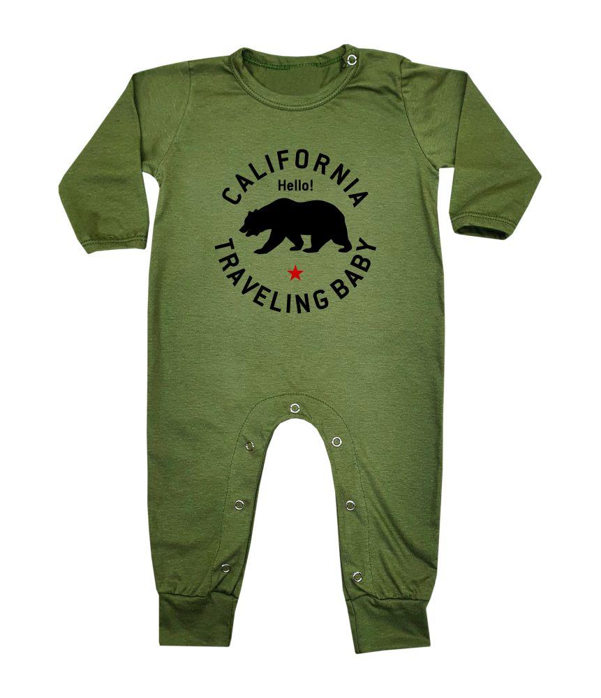 Macacão Bebê Longo em Malha California