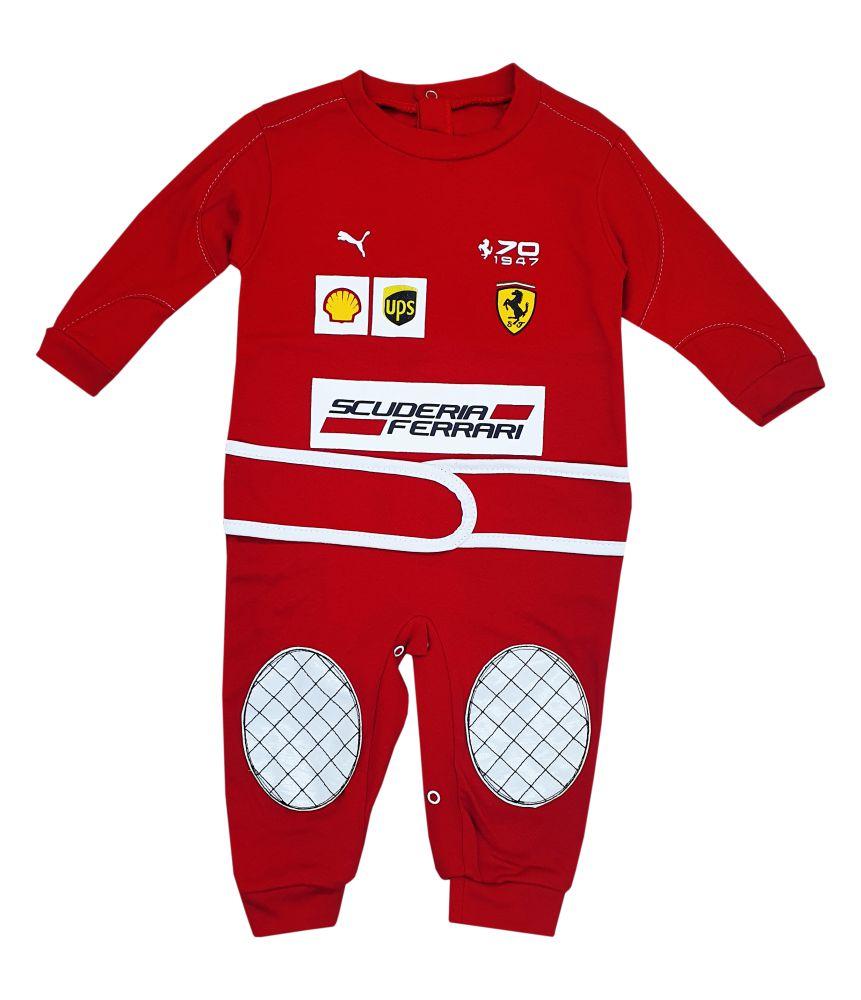 Macacão Corrida Bebê Ferrari