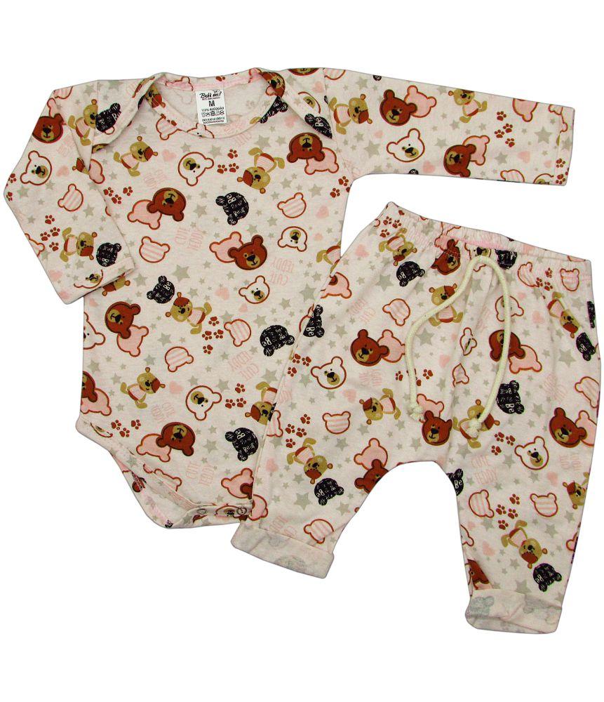 Pijama para Bebê Ursos Ted Menina