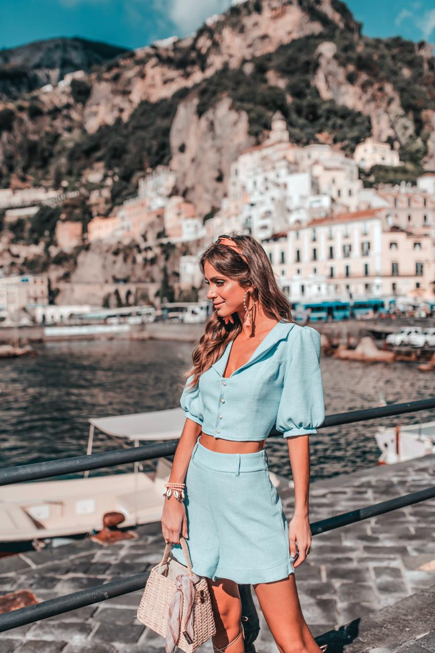 Shorts Kate Azul Claro