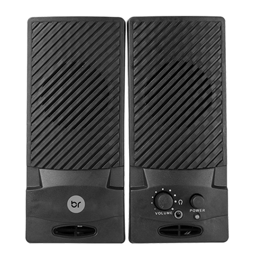 2 Caixinhas de Som Portátil Usb P2 Pc Notebook Celular