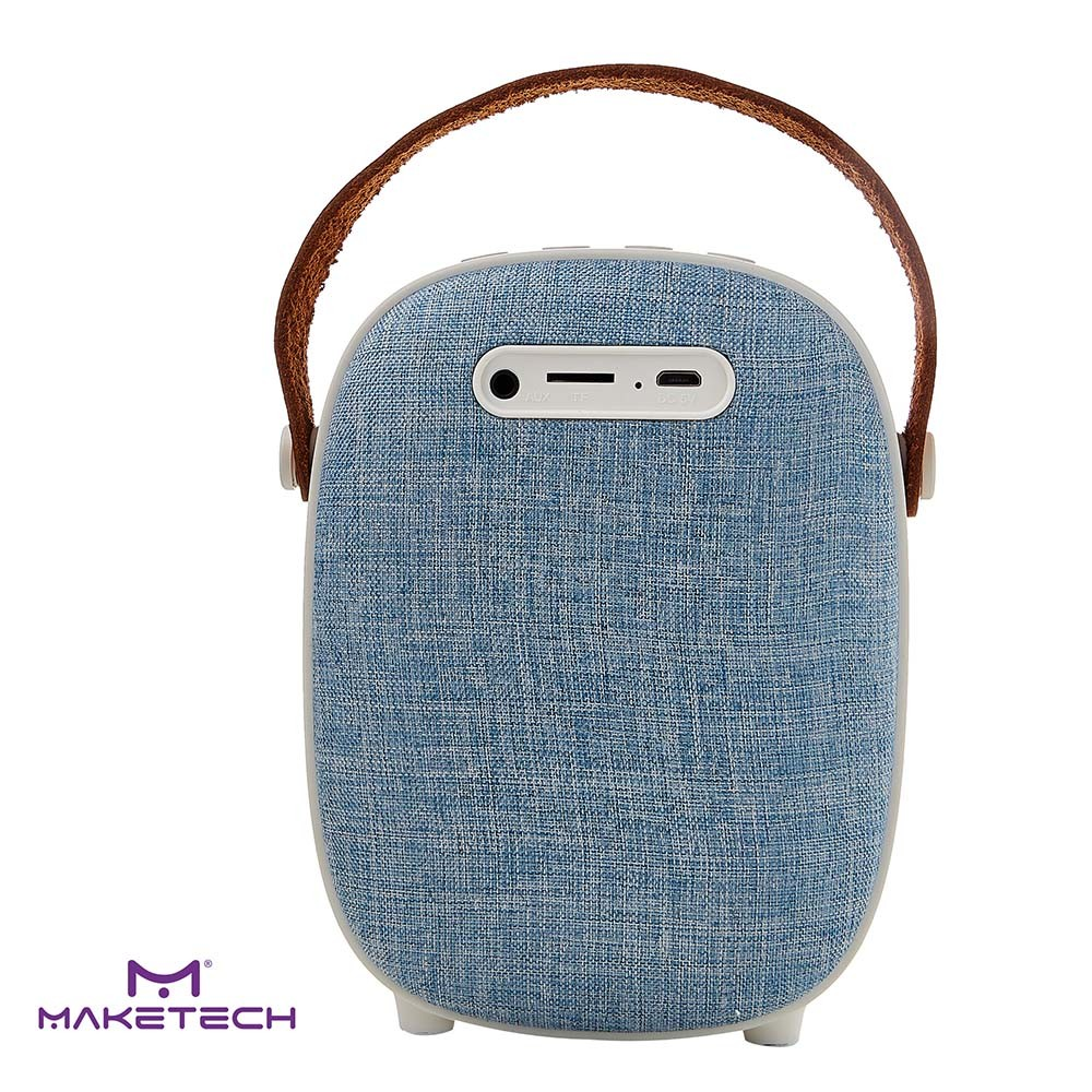 Caixa De Som Bluetooth BTS-2 Azul Maketech