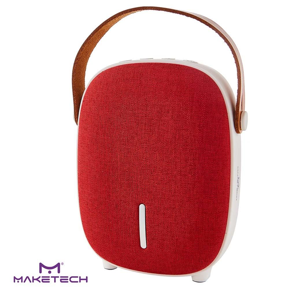 Caixa De Som Bluetooth BTS-2 Vermelha Maketech