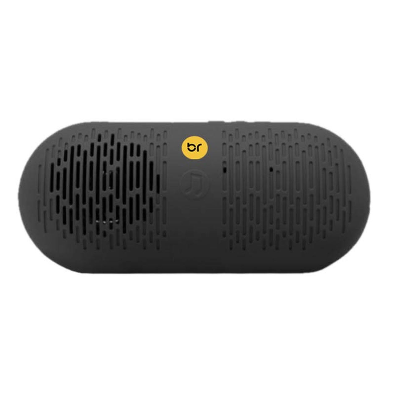 Caixa de Som Bluetooth Portátil, Entrada para cartão Micro SD e Rádio FM Preta 504 - Bright