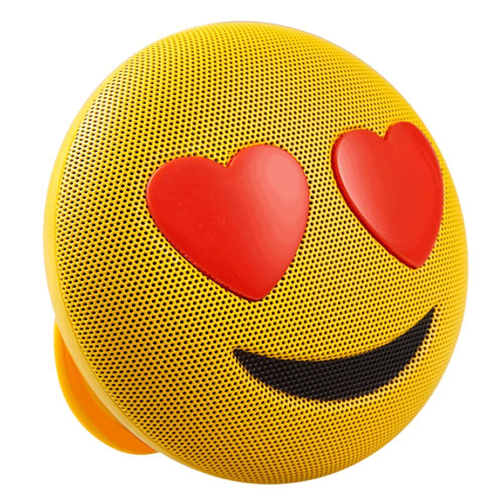 Caixa de som Bluetooth sem fio Emoji Apaixonado Jamoji
