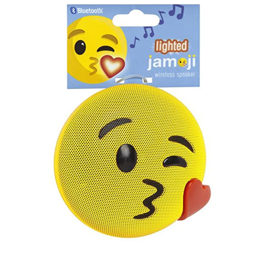 Caixa de som Bluetooth sem fio Emoji Beijo Jamoji