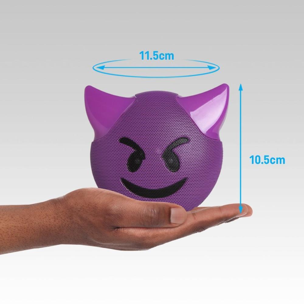 Caixa de som Bluetooth sem fio Emoji Encrenca Jamoji