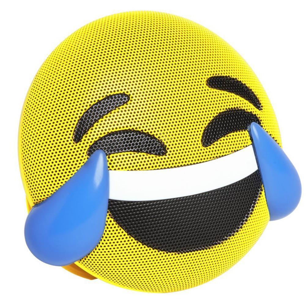 Caixa de som Bluetooth sem fio Emoji Sorriso Jamoji  - BRIGHT