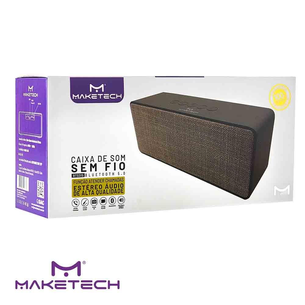 Caixa De Som Bluetooth BTS-315 Maketech
