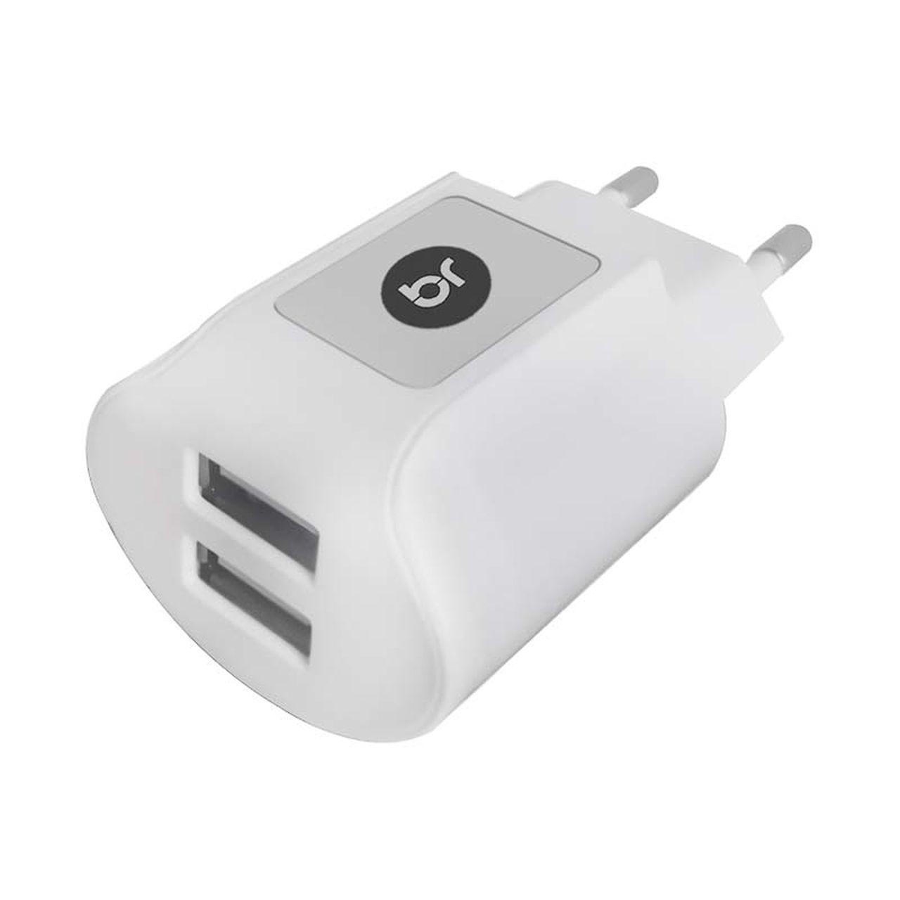Carregador USB de Tomada com 2 portas USB Bivolt 377 - Bright  - BRIGHT