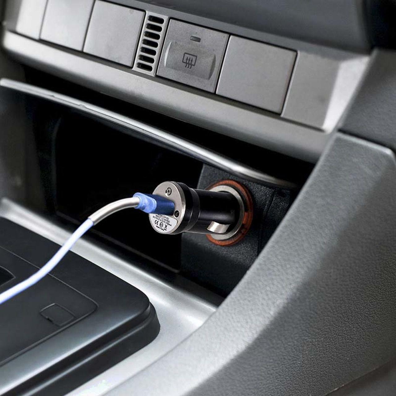 Carregador Veicular Com 1 Porta USB Saída 1A Bright 314